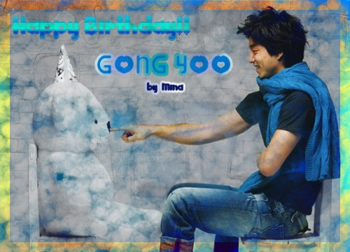 Happy Birthday GONG YOO